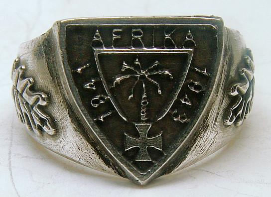 DAK Traditionsring Deutsch Afrika Korps Standard 21 mm