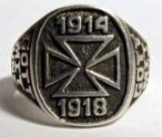 Ring EK 1914-1918 Gott mit uns Standard 21 mm