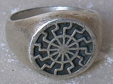Ring Schwarze Sonne