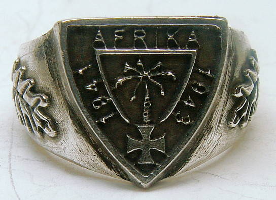 DAK Traditionsring Deutsch Afrika Korps Standard 21 mm