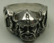 Wikingerring 1 Massiv Silber